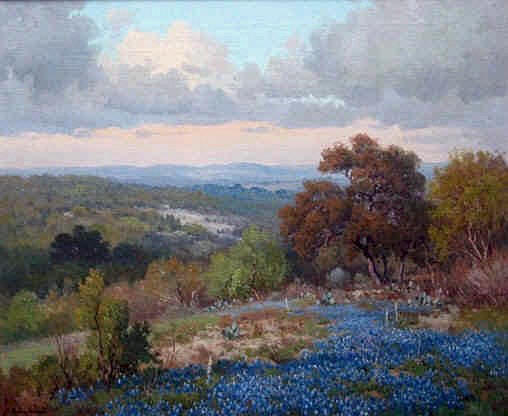 Texas Hill Country Oil Paintings
